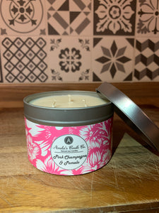 Pink Champagne & Pomelo 3 Wick Candle