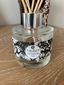 Luxury Reed Diffuser - Pomegranate Noir - Amelia's Candle Co