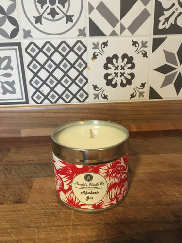 Rhubarb Gin Medium Candle