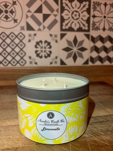 Limoncello 3 Wick Candle