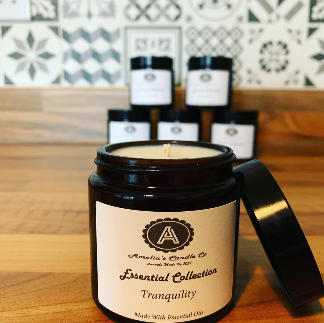 Tranquility Essential Oil Candle