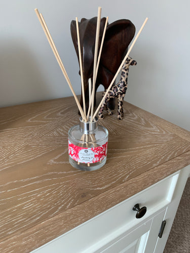 Reed Diffuser - Raspberry & Prosecco - Amelia's Candle Co