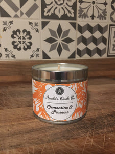 Clementine & Prosecco Medium Candle