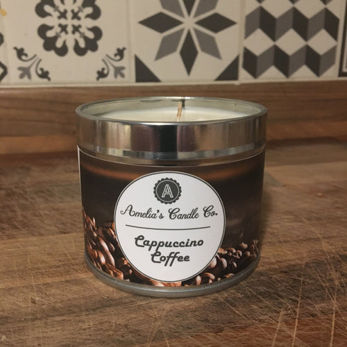Cappuccino Coffee Medium Candle