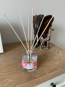 Luxury Reed Diffuser - Peony Petals - Amelia's Candle Co