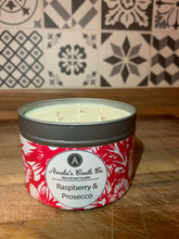 Load image into Gallery viewer, Raspberry & Prosecco 3 Wick Candle
