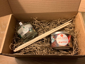 Christmas Diffuser & Candle Gift Box