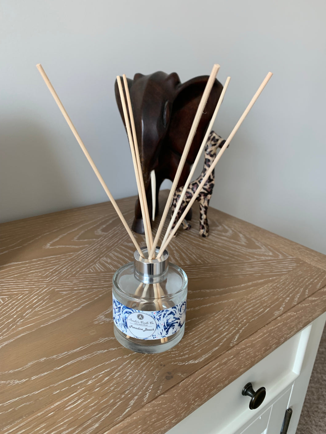 Luxury Reed Diffuser - Paradise Beach - Amelia's Candle Co