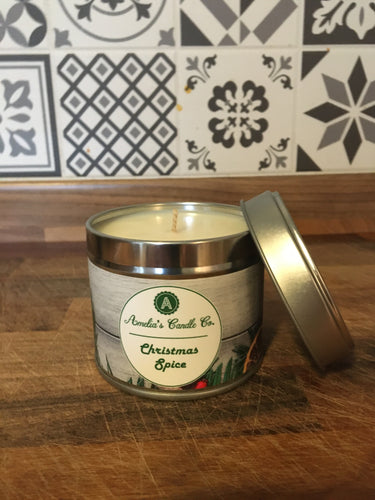Christmas Spiced Medium Candle