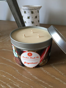 Gingerbread Large 3 Wick Candle