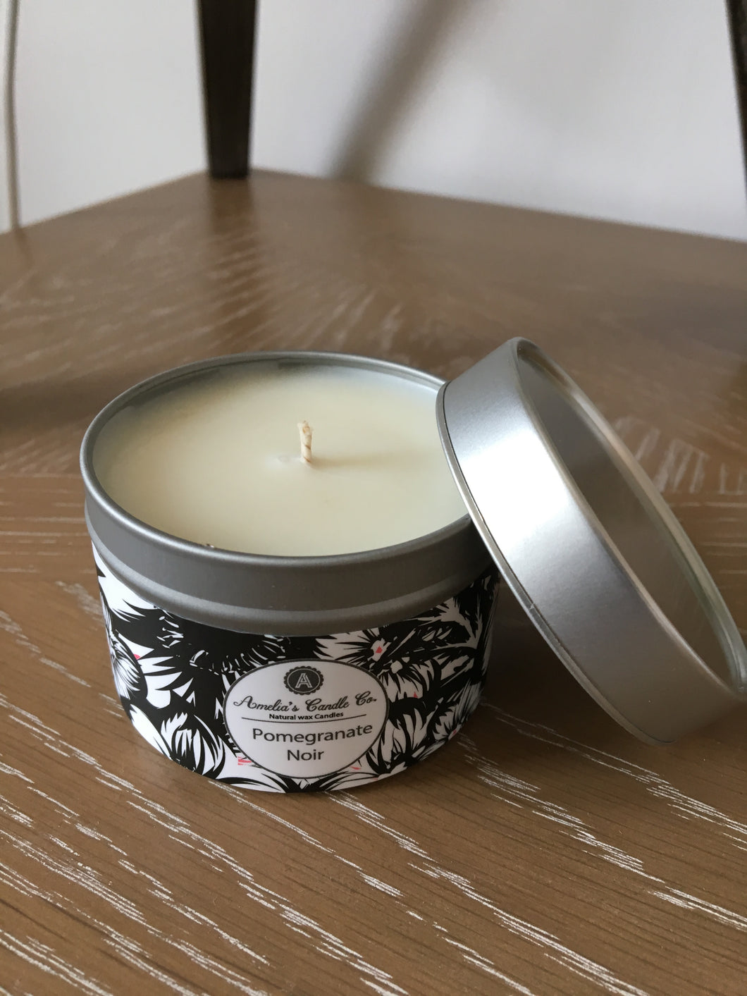 Pomegranate Noir Small Candle - Amelia's Candle Co
