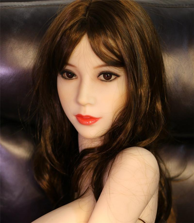 158cm Natual Skin Silicone Sex Sexy Doll with Metal Skeleton Lifelike Sex Real Love Toy