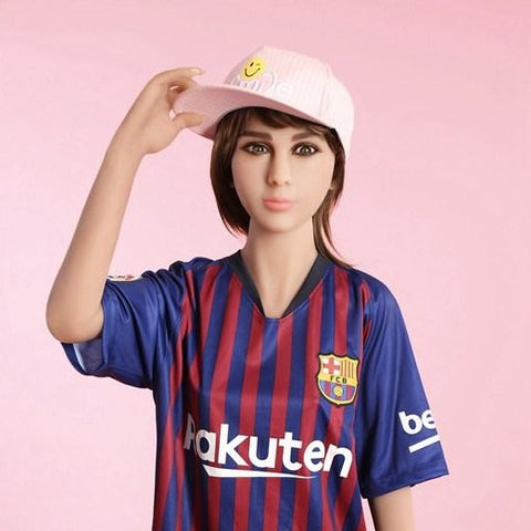 Nadina: Football Baby Skinny Sex Doll