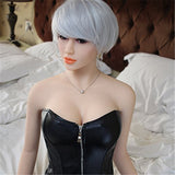 Sexual Short-hair Girl Candice Elaborating Lifelike Silicone Doll