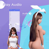 158cm 5ft2 F-cup Smart Sex Dolls Wendy