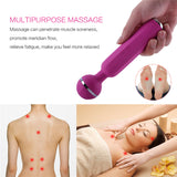 Waterproof Wand Massager Powerful Cordless Handheld Therapeutic Vibrations Vibrator