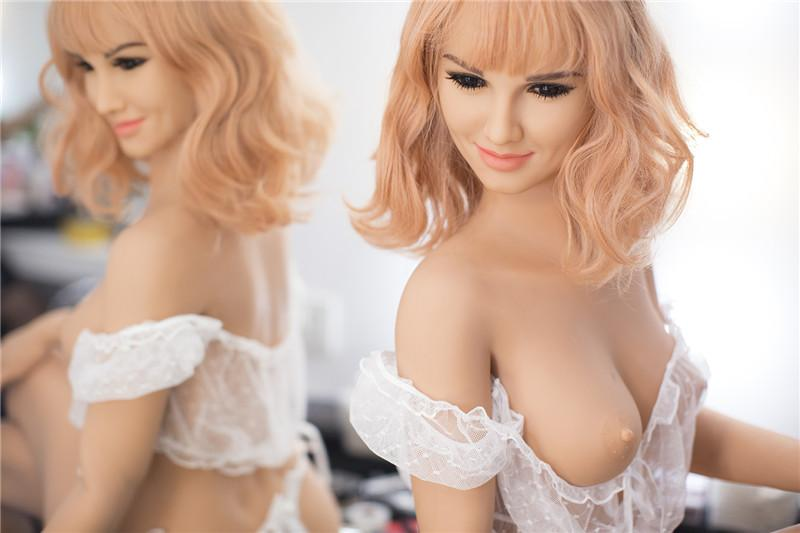 Cute Sex Angel Doll with Metal Skeleton Lifelike Sexy Real Solid Love Toy 158cm