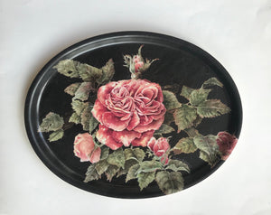 Oval tray Austin Rose
