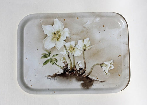 Winter-Rose Frukostbricka/Tea Tray