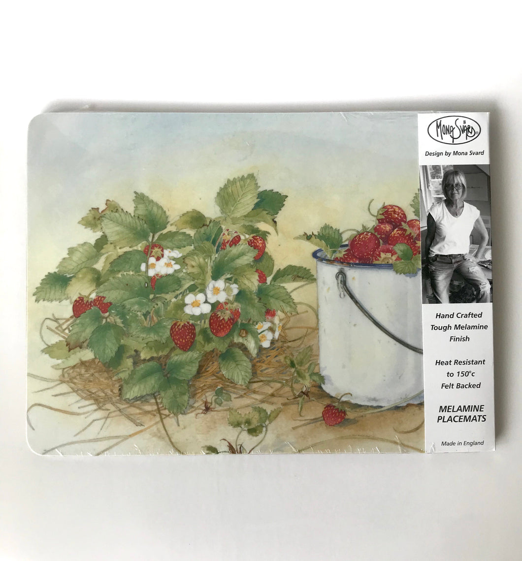 Placemat/Bordstablett Royal Jordgubb/Strawberry