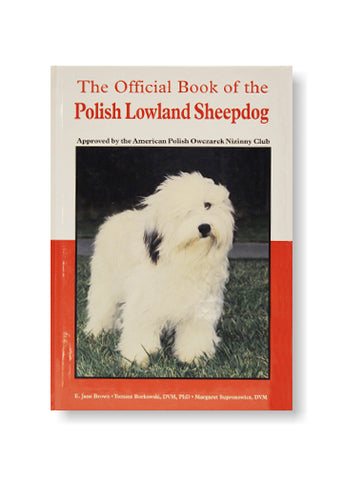 The Official Book of The Polish Lowland Sheepdog by E. Jane Brownjpg