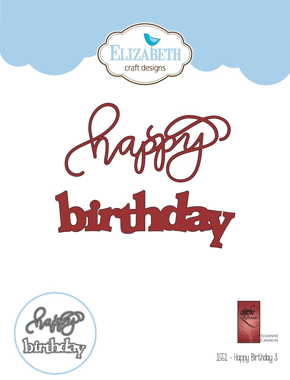 a way with words happy birthday 3 elizabethcraftdesigns com