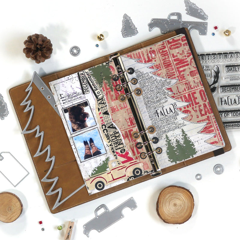 Planner Essentials 16 - Christmas Tree Page