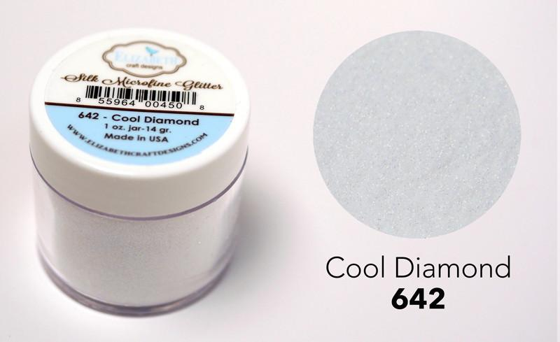 Cool Diamond 1oz. - Silk Microfine Glitter
