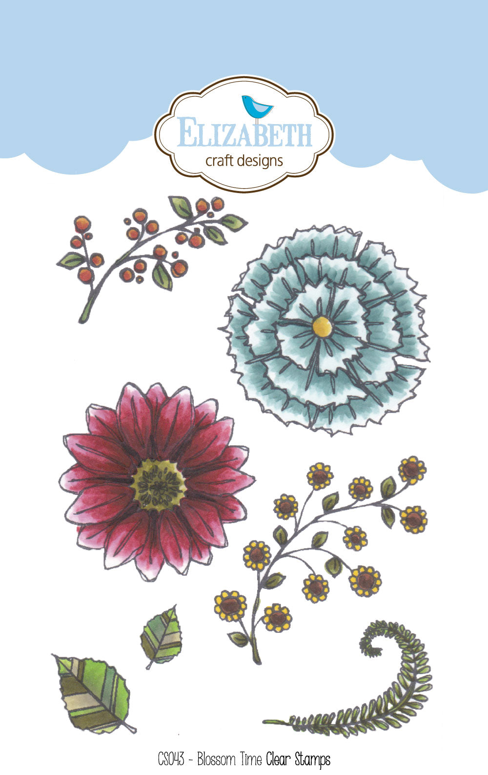 Blossom Time - Clear Stamps