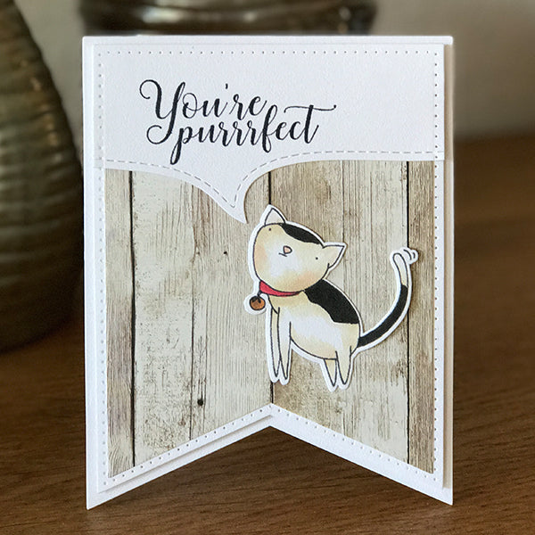 Purr Clear Stamps - Stamps - ElizabethCraftDesigns.com