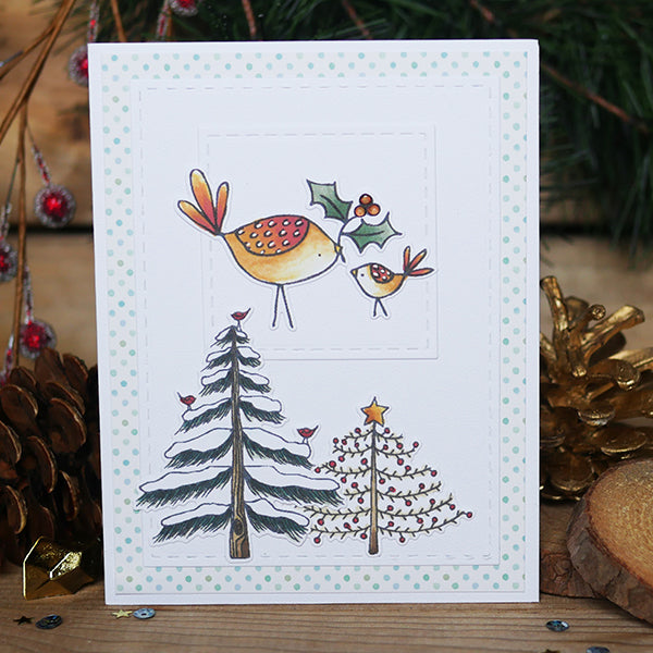 Holiday Trees Amp Ornaments Clear Stamps