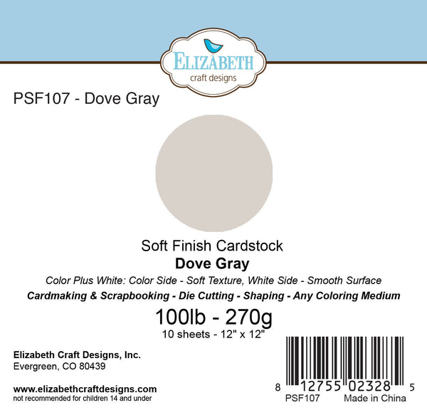 Soft Finish Cardstock, Dove Gray