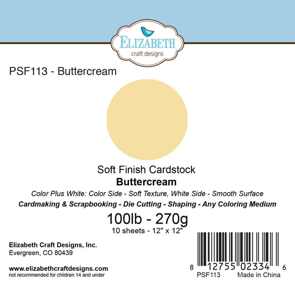 Soft Finish Cardstock, Buttercream