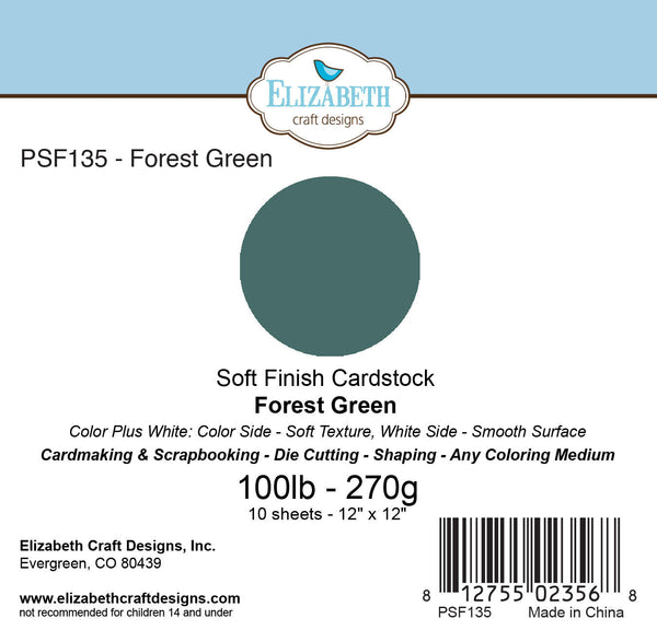 Soft Finish Cardstock, Forest Green