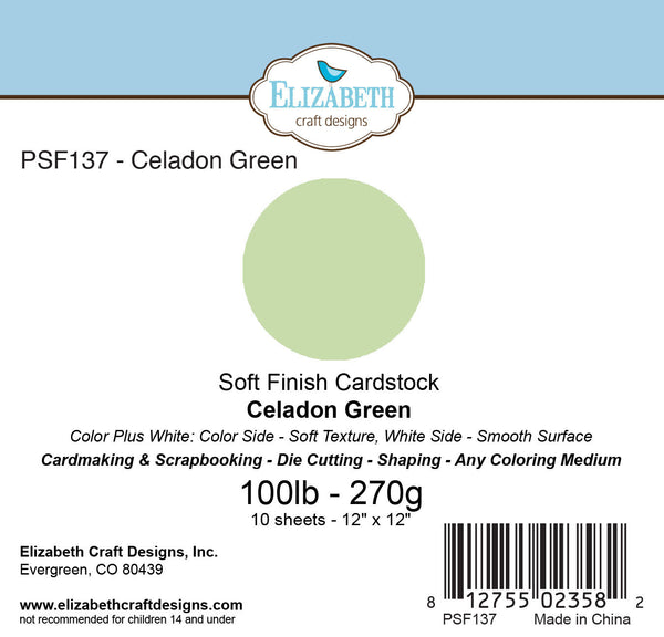Soft Finish Cardstock, Celadon Green