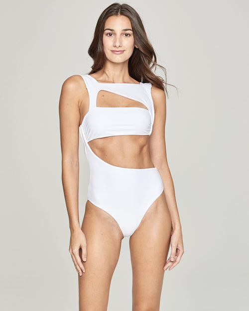 Bali One Piece White