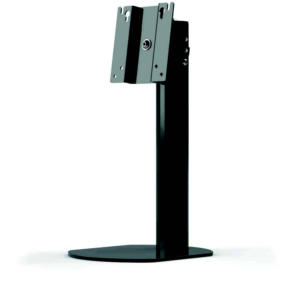 Freestanding monitor desk stand