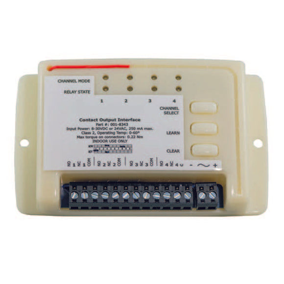 4 Channel Contact Output Interface