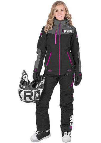FXR Women's Elevation Lite Dri-Link 2pc Monosuit 19