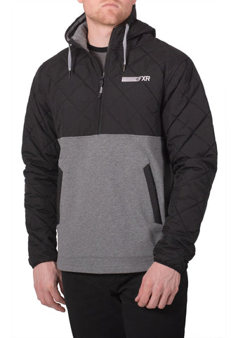 FXR Men's Tracker Quilted Pullover Hoodie 20