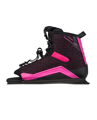 Radar Lyric Ski boot Feather Frame Black-Pink