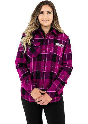 FXR Women's Timber Insulated Flannel Jacket 21