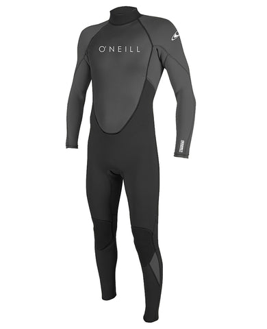 O'neill Reactor II 3/2mm Back Zip Full Wetsuit Grey
