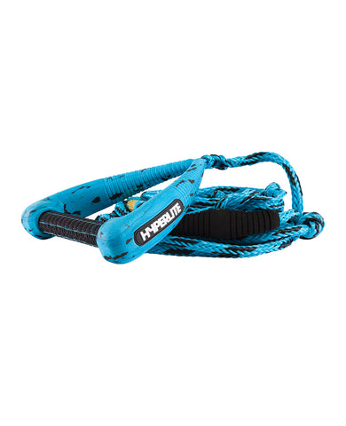 Hyperlite 25' Pro Surf Rope W/Handle Blue