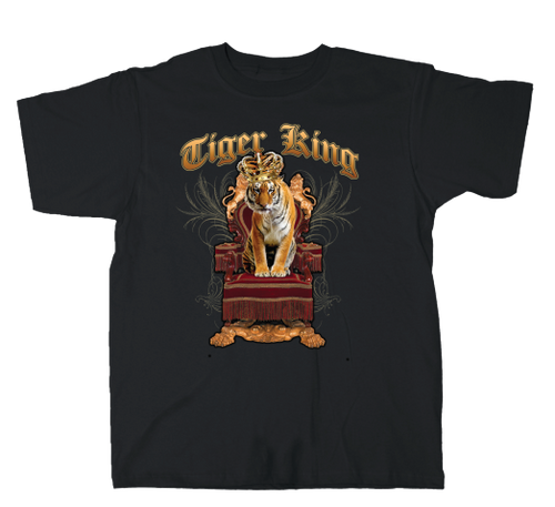 VGA Tiger King Throne Tee
