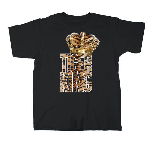 VGA Tiger King Crown Tee