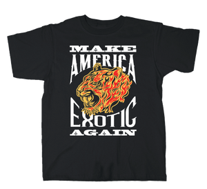 "VGA ""Make America Exotic Again"" Tiger King Tee"