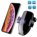 Qi Wireless Car Charger Vent Mount Phone Holder Compatible for Wireless Charging