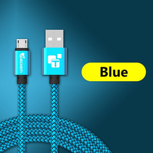 Durable Braided Armor Micro USB Cable (Multiple Colors)