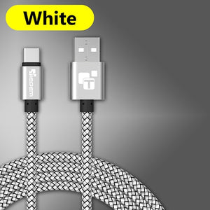 Durable Braided Armor Type C USB Charging/Data Cable  (Multiple Colors)*